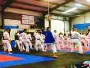 Kata work at 2017 Spring Sport Karate Training Camp.