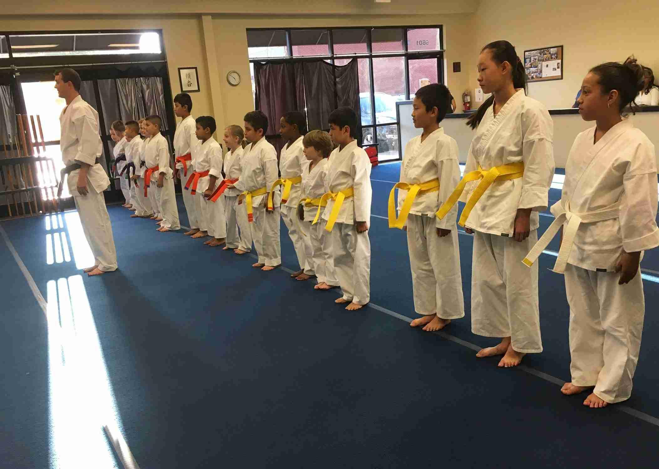 New Visions Dojo Kids' Karate Class