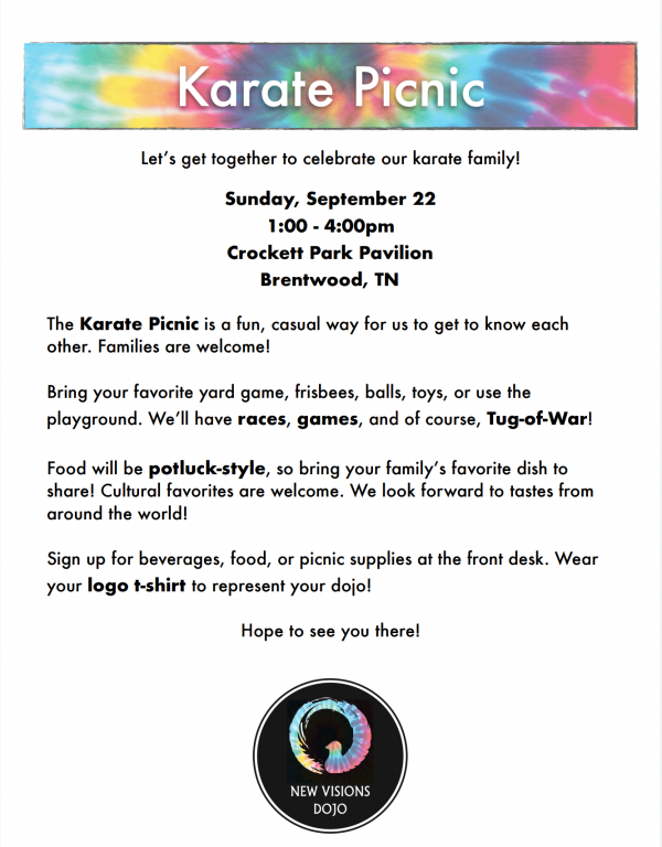 Information about Karate Picnic